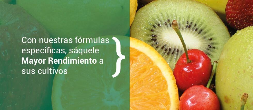 Fórmulas para un mayor rendimiento a sus cultivos.